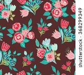 seamless floral pattern... | Shutterstock .eps vector #368299349