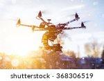 professional hexacopter in... | Shutterstock . vector #368306519