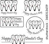 happy dentist day.   Shutterstock .eps vector #368313659