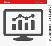 screen icon. professional ... | Shutterstock .eps vector #368318927
