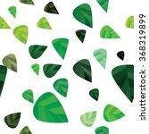 seamless leaves pattern | Shutterstock .eps vector #368319899