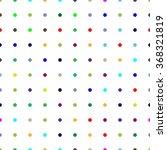 seamless abstract dot pattern. | Shutterstock .eps vector #368321819