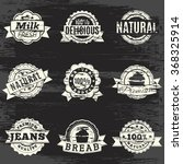 icons in retro style is not a... | Shutterstock .eps vector #368325914