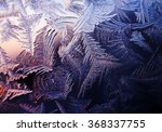 frosty natural pattern at a... | Shutterstock . vector #368337755