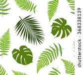 Tropical Leaves Seamless...