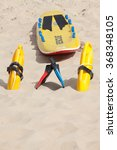 lifesaving raft  floatation... | Shutterstock . vector #368348105
