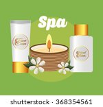 spa zone design  vector... | Shutterstock .eps vector #368354561