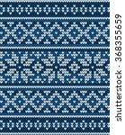 vector knitted geometrical... | Shutterstock .eps vector #368355659