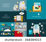 modern flat design banner for... | Shutterstock .eps vector #368384015