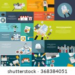 modern flat design banner for... | Shutterstock .eps vector #368384051