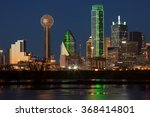 Downtown Dallas  Texas At Nigh...