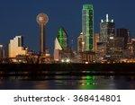 Downtown Dallas  Texas At Nigh...