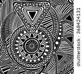 vector abstract mosaic... | Shutterstock .eps vector #368424131