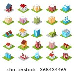 icons isometric | Shutterstock . vector #368434469