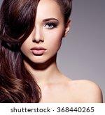 portrait of the beautiful ... | Shutterstock . vector #368440265
