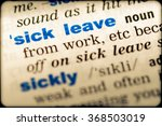 close up of word in english... | Shutterstock . vector #368503019