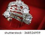 wedding rings background ...   Shutterstock . vector #368526959