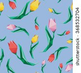 flower low poly concept... | Shutterstock .eps vector #368532704