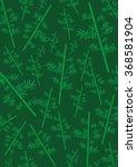 bamboo pattern background | Shutterstock . vector #368581904