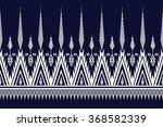 geometric ethnic pattern design ...   Shutterstock .eps vector #368582339