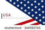 usa 2016 presidential election... | Shutterstock .eps vector #368582765