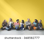 diverse people friendship... | Shutterstock . vector #368582777