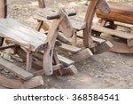 Vintage Old Wooden Rocking...