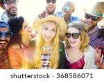 friendship bonding relaxation... | Shutterstock . vector #368586071