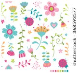 Cute Pastel Flowers And...