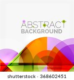geometric design abstract... | Shutterstock .eps vector #368602451