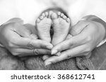 a mother hand holding little... | Shutterstock . vector #368612741