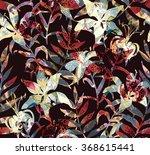 Tiger Lilies Seamless Pattern....
