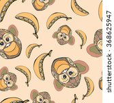 seamless pattern with the...   Shutterstock .eps vector #368625947