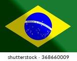 brasil national flag  | Shutterstock . vector #368660009