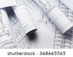 architectural blueprints | Shutterstock . vector #368665565