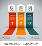 infographic design template... | Shutterstock .eps vector #368669369