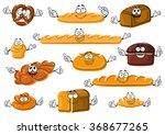 happy cartoon fresh bakery and...
