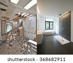 Renovation Of A Bathroom Befor...