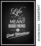 quote typographical background | Shutterstock .eps vector #368689847