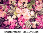 beautiful flowers background ... | Shutterstock . vector #368698085
