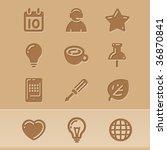 Vector Blog Icons Set2