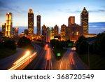 Atlanta Skyline By Night ...