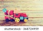 old toy steam engine... | Shutterstock . vector #368724959