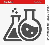 test tubes icon. professional ... | Shutterstock .eps vector #368745464