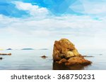 Beautiful Seascape With Rocks...