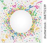 white background of carnival... | Shutterstock .eps vector #368752139