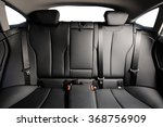 back black leather seat of the... | Shutterstock . vector #368756909