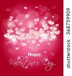 pink valentine's background... | Shutterstock . vector #368759909