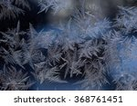 marvellous patterns on frosty... | Shutterstock . vector #368761451
