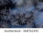 marvellous patterns on frosty...   Shutterstock . vector #368761451